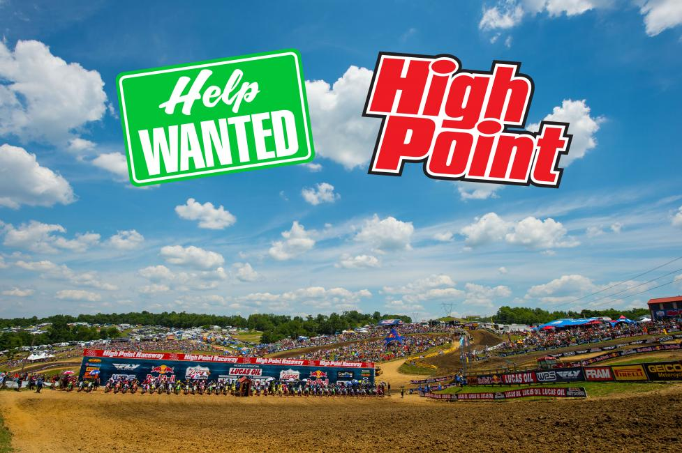 This is your opportunity to be a part of the working staff at High Point Raceway on June 16th.