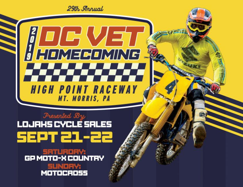 29th Annual DC Vet Homecoming - High Point MX
