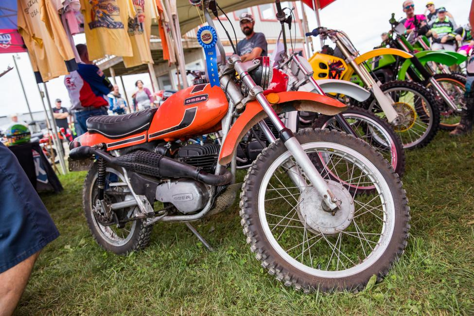 Vintage Contests and Bike Show will be offering great prizes for all winners. Register your vintage items at the RacerX Tent from 9 - 11 a.m. on Sunday.
