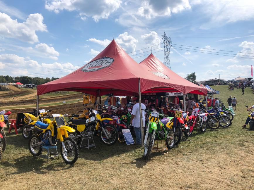 The Vintage Bike Show took place on Sunday, with a variety of classic bikes, vintage gear, programs and old school trophies.
